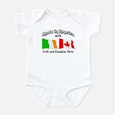 Irish & Canadian Parts Infant Bodysuit