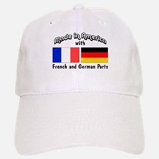 French & German Parts Baseball Baseball Cap