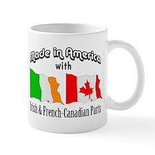 Irish & French-Canadian Parts Mug