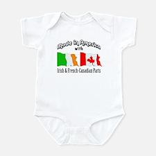 Irish & French-Canadian Parts Infant Bodysuit
