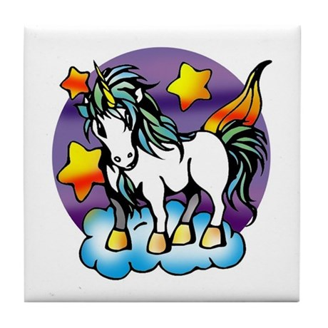 Unicorn Tile Coaster