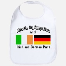 Irish & German Parts Bib