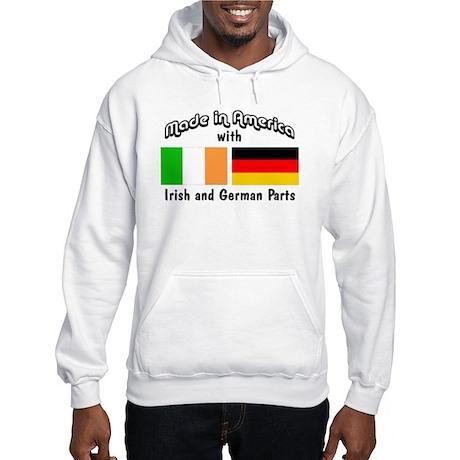Irish & German Parts Hooded Sweatshirt