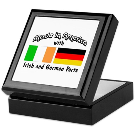 Irish & German Parts Keepsake Box