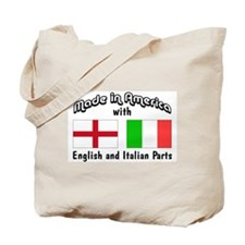English & Italian Parts Tote Bag