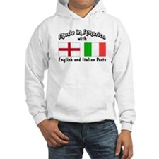 English & Italian Parts Hoodie