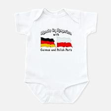 German & Polish Parts Infant Bodysuit