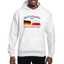 German & Polish Parts Hoodie Sweatshirt