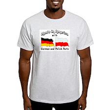 German & Polish Parts T-Shirt