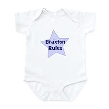 Braxton Rules Infant Bodysuit
