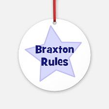 Braxton Rules Ornament (Round)