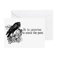 Poet Greeting Cards (Pk of 10)