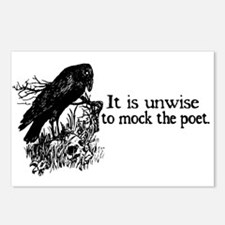 Poet Postcards (Package of 8)