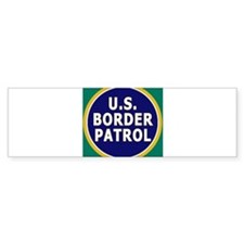 Border Patrol Bumper Bumper Sticker