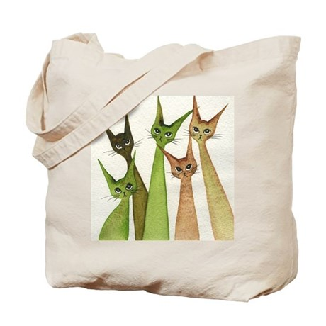 Yukon Whimsical Cats Tote Bag