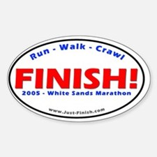 2005-White Sands Marathon Decal