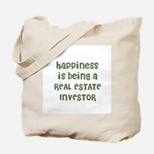 Happiness is being a REAL EST Tote Bag
