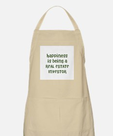 Happiness is being a REAL EST BBQ Apron