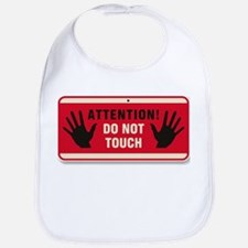 Don't Touch #3 Bib