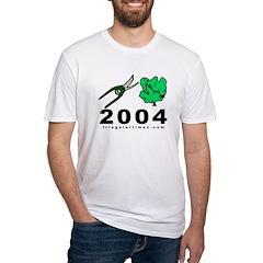 Prune Bush 2004 Fitted Sweatshop-Free T-