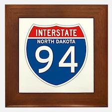 Interstate 94 - ND Framed Tile