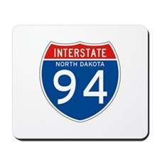 Interstate 94 - ND Mousepad