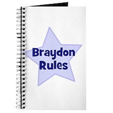 Braydon Rules Journal