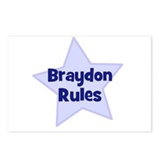 Braydon Rules Postcards (Package of 8)