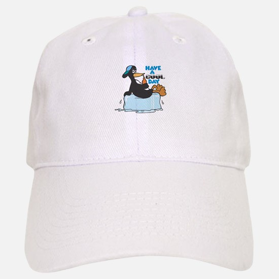 Have a Cool Day Penguin Baseball Baseball Cap