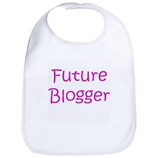 Future Blogger Girl Bib