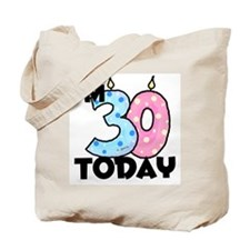30 Today Tote Bag