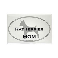 Rat Terrier MOM Rectangle Magnet