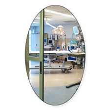 Room in intensive care unit Decal