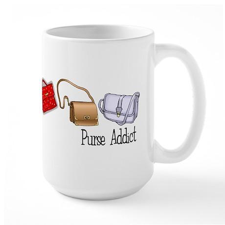 Purse Addict Large Mug