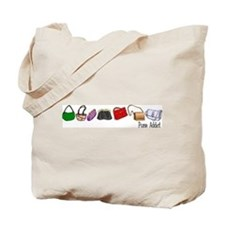 Purse Addict Tote Bag