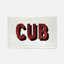 CUB Rectangle Magnet