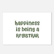 Happiness is being a REGISTRA Postcards (Package o