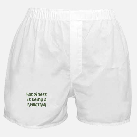 Happiness is being a REGISTRA Boxer Shorts