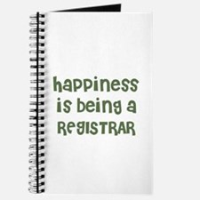 Happiness is being a REGISTRA Journal