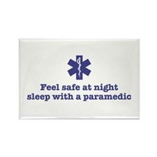 Feel Safe with a Paramedic Rectangle Magnet