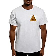 Lambda Lambda Lambda Ash Grey T-Shirt