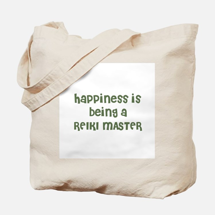 Happiness is being a REIKI MA Tote Bag