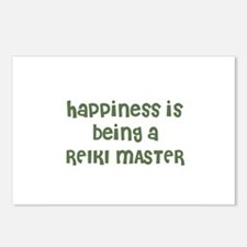 Happiness is being a REIKI MA Postcards (Package o