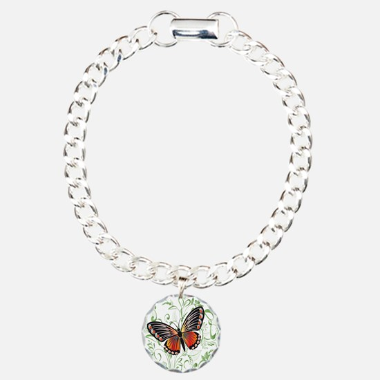 Whimsical Butterfly Charm Bracelet, One Charm