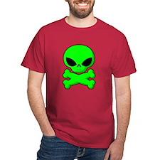 Little Alien Red T-Shirt