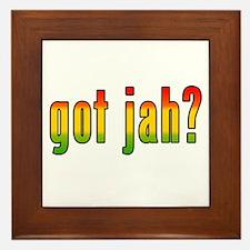 got jah? Framed Tile
