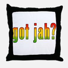 got jah? Throw Pillow