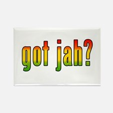got jah? Rectangle Magnet