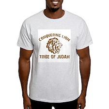 LION of JUDAH Ash Grey T-Shirt
