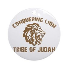 LION of JUDAH Ornament (Round)